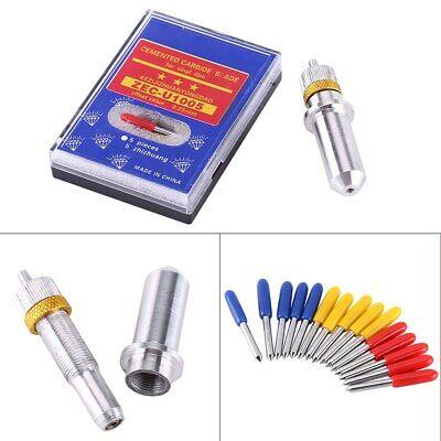 15pcs 304560for Roland Gcc Cutting Plotter Vinyl Cutter Blade Knife W Holder