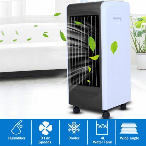 2in1 Klimagerät Klimaanlage /& Heizlüfter  Verdunstungskühler drehbar