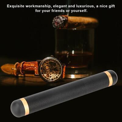 Quality Travel Portable Metal Single Cigar Moisturizing Tube Holder Case Gift Cigar Tube Gift