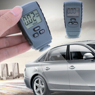 Digital Paint Coating Thickness Gauge Meter Measure Tester Tool Professional Lcd