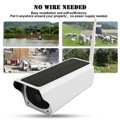 TELECAMERA IP WIFI PANNELLO SOLARE ESTERNO 1080P NIGHT VISION IP67 P2P 2MP CAM