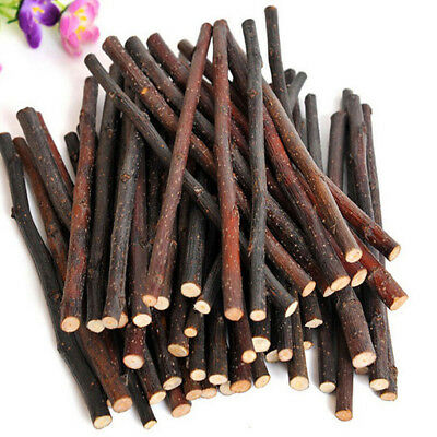 Apple Wood Chew Sticks Twigs for Small Pets Rabbit Hamster Guinea Pig Toy Great