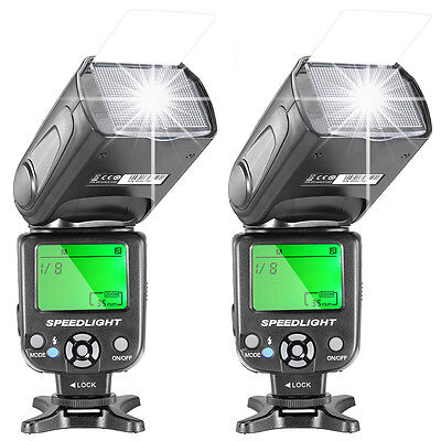 Neewer 2pcs NW-561 Speedlite Flash for Canon Rebel T5i T4i T3i T3 T2i T1i SL1