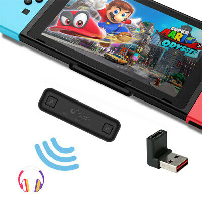 For Nintendo Switch /Lite Bluetooth HiFi Audio Tranceiver Adapter US