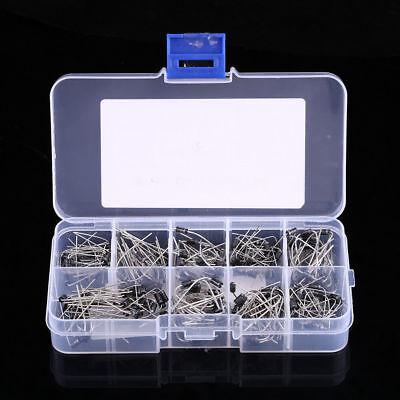 10 Value Rectifier Diode Schottky 1n4001-1n5819 Assortment Kit 200 Pcs