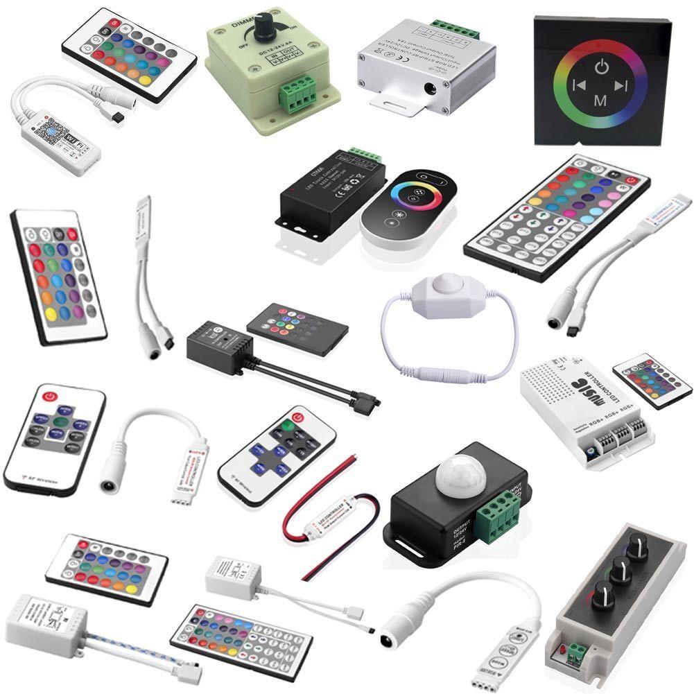 LED IR RF Controller Steuerung Fernbedienung Touch-Funktion LED RGB Strip DC12V