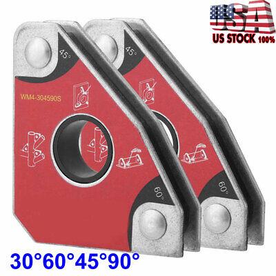 2pcs Tack Welding Holder Magnetic Arrow Soldering Welder Welding Holder Us