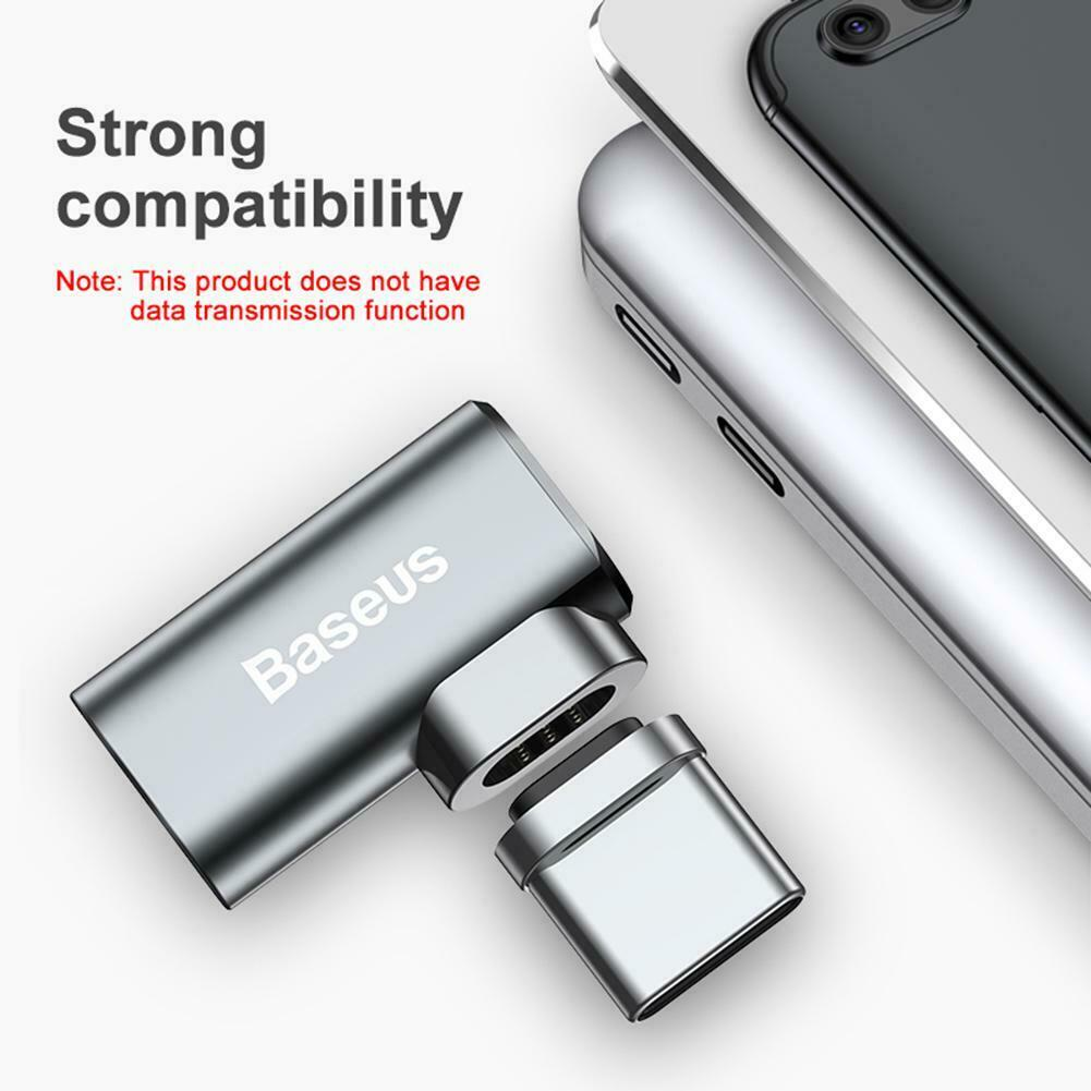 BASEUS Magnetic USB-C to USB-C Charging Adapter Magnetic Type-C Converter
