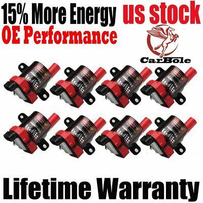 8 Ignition Coil for Chevrolet Silverado 1500 GMC 5.3/6L/4.8L UF-262 D585 C1251