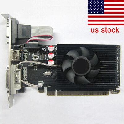 New GPU HD6450 2GB DDR3 HDMI Graphic Video Graphics Card PCI