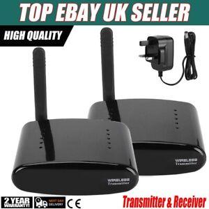 5.8GHz Wireless AV Sender TV Video Audio Transmitter Receiver for DVD/DVR/IPTV