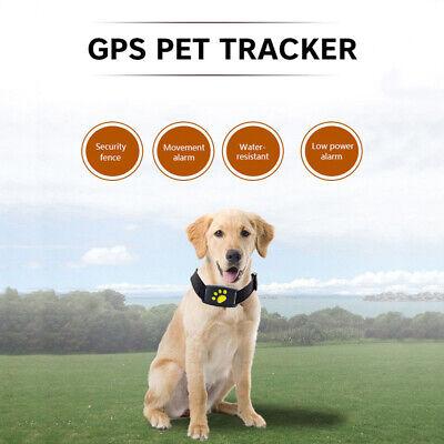 Wasserdichte Haustierhalsband GPS GSM Tracker Echtzeit-Locator für Hunde Katzen