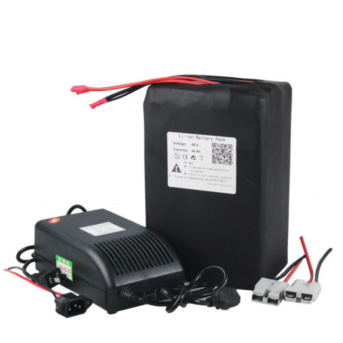 48V 40AH Lithium Rechargeable Battery Pack For Scooter Trike