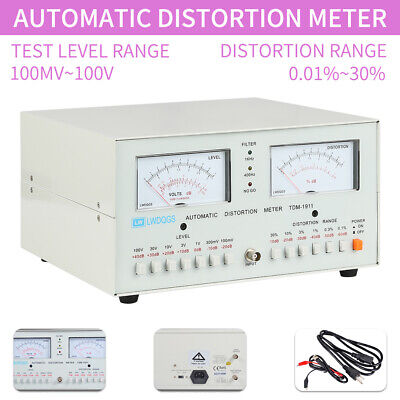Automatic Audio Signal Distortion Meter Tester Tdm-1911 0.01-30 110v