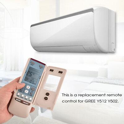 Universal  Air Conditioner Air-Con Remote Control Controller for GREE Y512 Y502