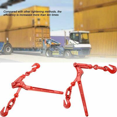 14 - 516 Steel Load Binder Pull Lever Chain Hook Tie Down Rigging Equipment
