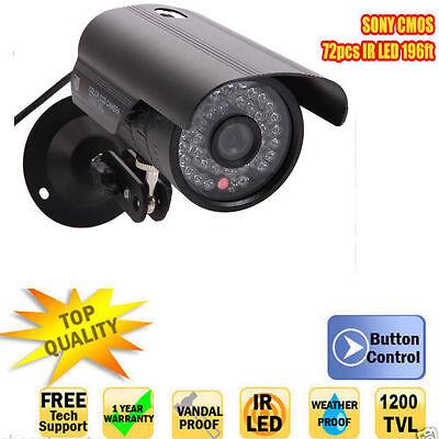 1200TVL HD 6mm Lens IR Night Vision Outdoor Waterproof CCTV Security Camera E1