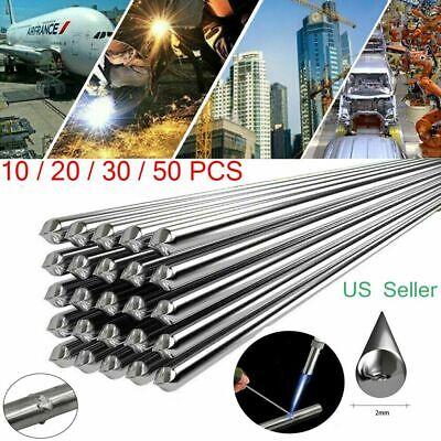 Lot Super Melt Flux Cored Aluminum Easy Solution Welding Rods 1.6mm / 2mm * 50cm