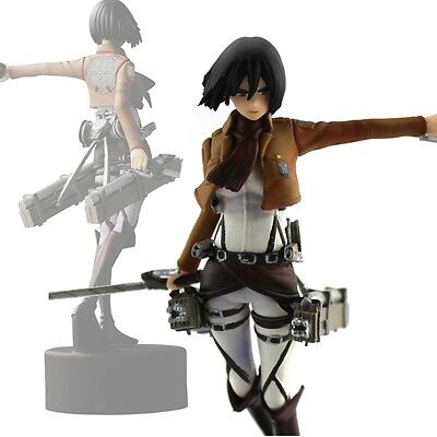 Japaness Anime High Quality Shingeki No Kyojin Mikasa PVC Figure Attack On Titan
