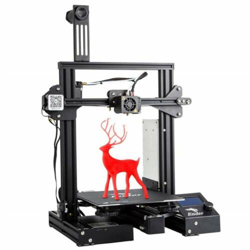 US stock Official Creality Ender 3 Pro 3D Printer + PLA Filament + UPS/Fedex
