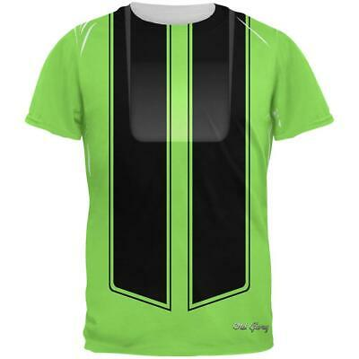 Halloween Classic Muscle Car Green Costume All Over Mens T Shirt](All Green Halloween Costume)
