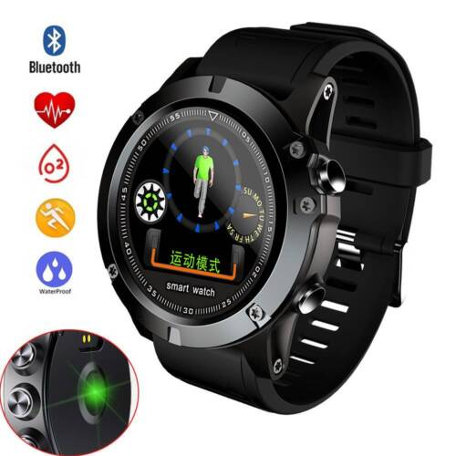 Outdoor Sports Watch Bluetooth Smart Watch Calls Reminder for iPhone Samsung S9 Cell Phones & Accessories