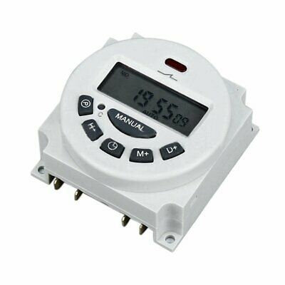 Microcomputer Lcd Digital Programmable Electronic Power Relay Switch Time Timer