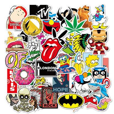 100XRandom Vinyl BOMB PACK Graffiti Stickers Laptop Skate Luggage Car Decal UK