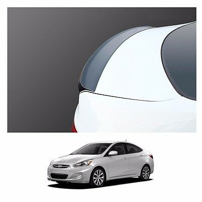 Rear Spoiler PGU White Crystal PAINTED For 2011 2012 2013 2014 Hyundai Accent