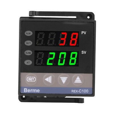 100-240v Digital Led Temperature Controller Pid Rex-c100 Thermostat Thermocouple
