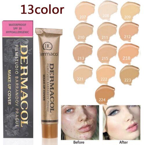 Dermacol Make Up Cover Concealer Grundierung stark deckend Alle Farben SPF-30