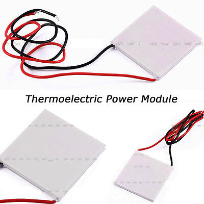Thermoelectric Power Generator Peltier Module Teg 4040mm 150 High Temperature