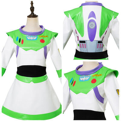 Toy Story Buzz Lightyear Cosplay Costume Halloween Outfit Dress