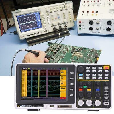 Mixed Signal Mso Oscilloscope Logic Analyzer Owon Mso7062td 8 60mhz 1gss Fft