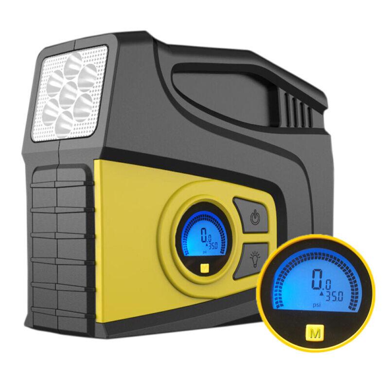 Portable 12V Auto Air Compressor Pump 150PSI Tire Inflator for Car Motor Bike