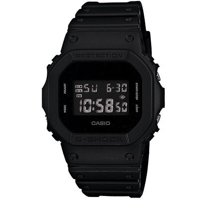 NEW G-Shock Casio Men's DW-5600BB-1D Watch Black Casio Water and Shock Resistant