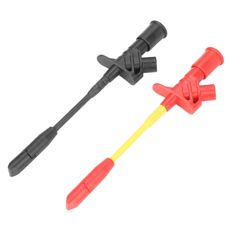 2Pcs Insulation Piercing Test Clip Multimeter Testing Clip Probes P5005 Fully