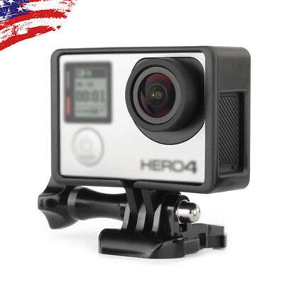 For GoPro HERO3 HERO3+ HERO4 Protective Standard Frame Housing Case Mount Border