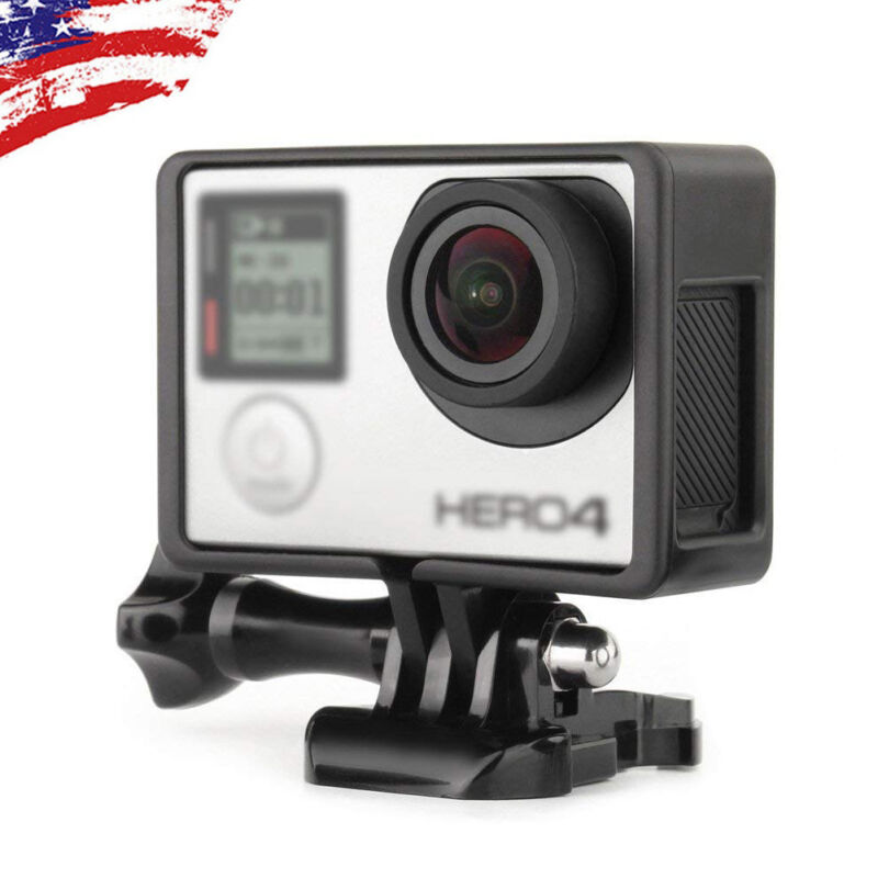 For GoPro HERO3 HERO3+ HERO4 Protective Standard Frame Housing Case Mount Border