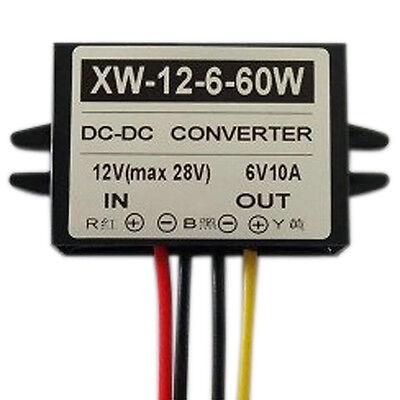 Dc12v To Dc6v 10a 60w Step Down Power Supply Converter Regulator Module