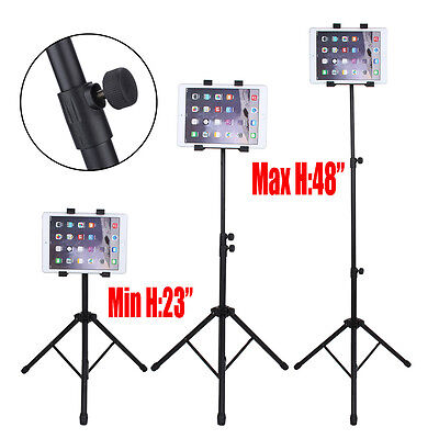 Adjustable Foldable Tripod Stand Holder Bracket For iPad 2 3 4 Air Mini Table