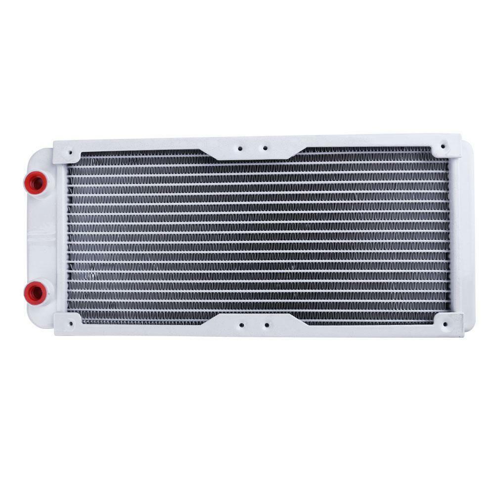 240mm 18 Tube Straight Thread Heat Radiator Exchanger for PC