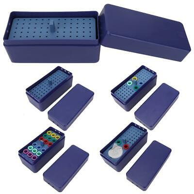 72-hole Oral Dental Disinfection Box Endodontic Drill Organizer Root Canal Files