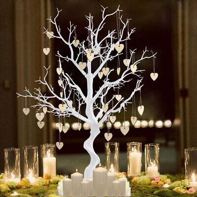 White Resin Simulated Tree Wishing Tree Guest Book Tree Wedding centerpiece - Wedding Wish Tree