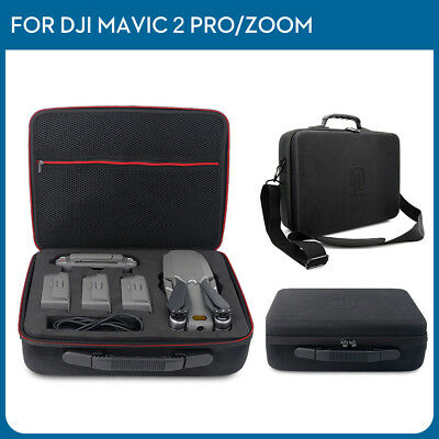 Backpack Shoulder Bag 4 Battery Carrying Case for DJI Mavic 2 Pro / 2 Zoom Drone
