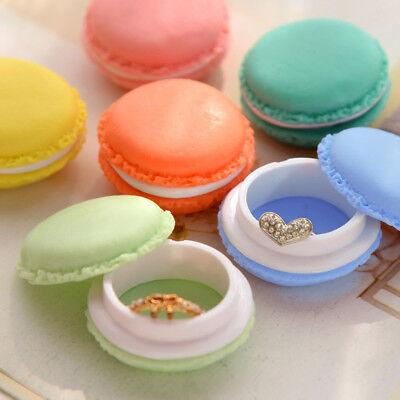 (Cute Kawaii Pastel Trinket Jewelry Earrings Storage Box Colorful Macaroon Case)