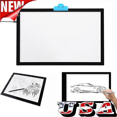 USB A3/A4 LED Tracing Light Box Drawing Tattoo Board Pad Table Stencil Artist