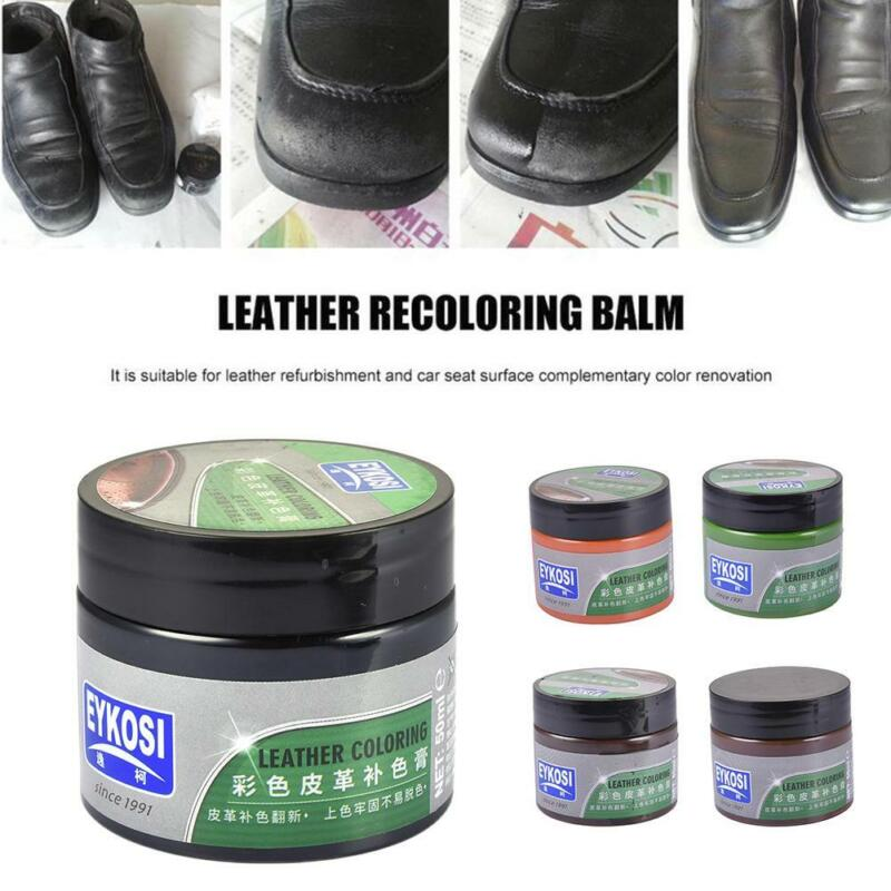 Car Seat Dyed Oil Leather Clothes Furniture Repair Cream Sof