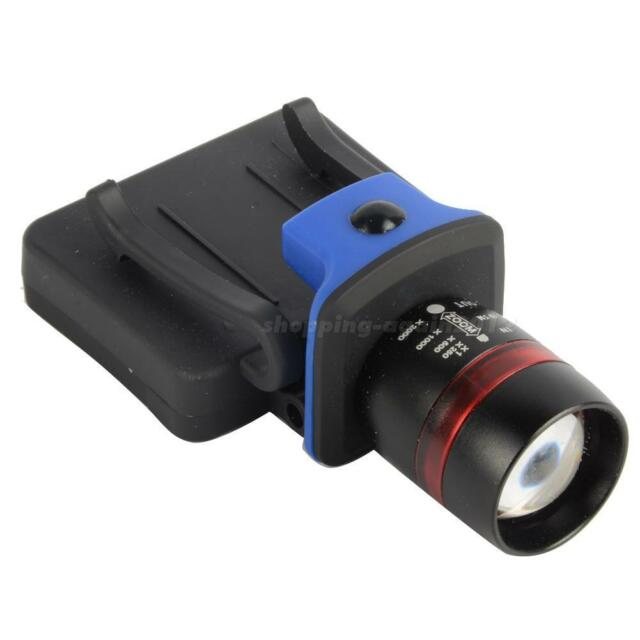 400LM Q5 LED ZOOMABLE Cap Hat Light Torch Headlamp Headlight M1800 Hiking A