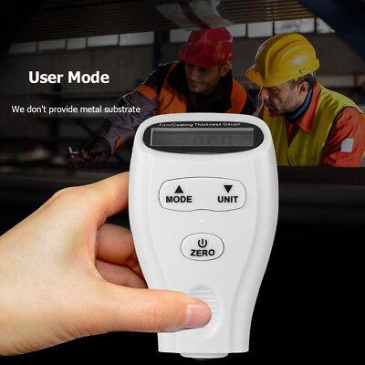 Us New Digital Lcd Paint Coating Thickness Gauge Probe Tester Meter Measure Tool